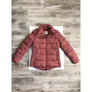 Mauve Old Navy Puffer Jacket